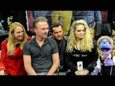 That time members of the Star Trek Continues Cast & Crew talked to a puppet at Comikaze 2015.