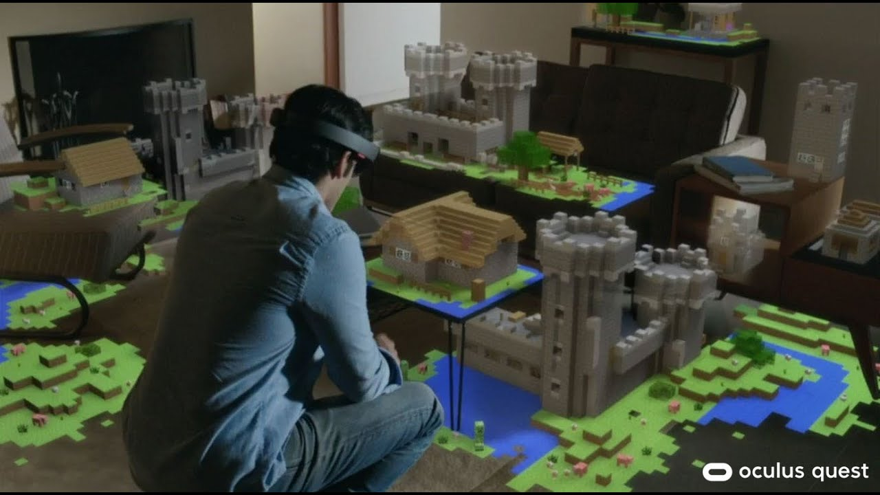Minecraft VR - Coming to Quest [Hinted]
