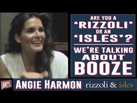 Rizzoli & Isles: Season 5 Set Visit  Angie Harmon, Sasha Alexander, Jordan Bridges