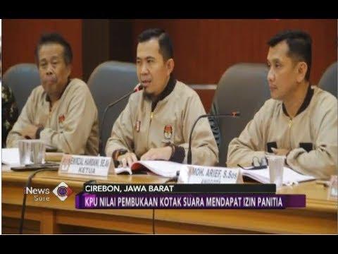 KPUD Cirebon Menolak Pemungutan Suara Ulang Di 24 TPS - INews Sore 01/07
