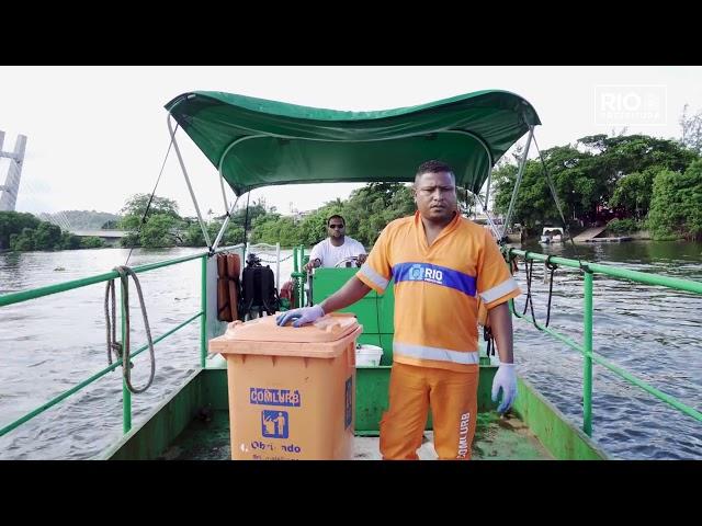 Vander Santos em: um dia de trabalho com a equipe náutica #ComlurbNãoPara