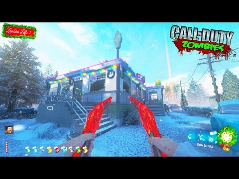 CHRISTMAS TRANZIT CUSTOM ZOMBIES w/ BOSS FIGHT!!! (Call of Duty Black Ops 3)