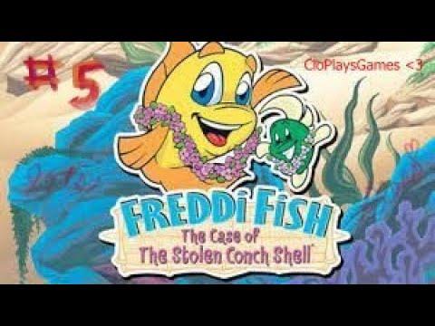 Freddi Fish 3: The Case of the Stolen Conch Shell P (5) |