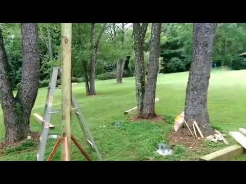 How To Build A Tree House Without Using A Tree Day1
