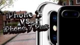 iPhone X и iPhone 7 Plus - Сравнение Камер
