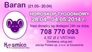 Horoskop tygodniowy dla Barana 28.04-04.05.2014 na Kosmica