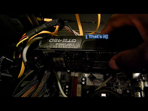 How to remove a pci express card
