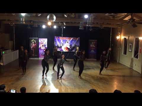 Omambo Ladies Advanced Team at the LA Woman Dance Fest