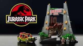 Lego Jurassic Park project on LEGO Ideas