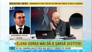 Alexandru Chiciu, despre plasarea Elenei Udrea in arest la domiciliu