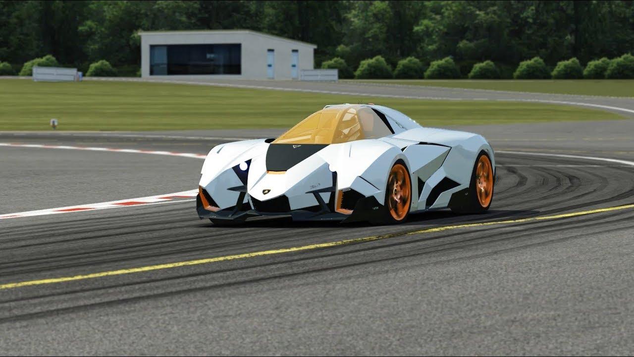 Lamborghini Egoista Concept At Top Gear Youtube