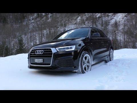 Audi Q3 2.0 TDI 2016 | Details and Snow Driving