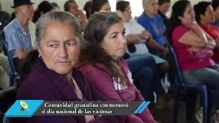 Comunidad granadina conmemoró el día nacional de las víctimas