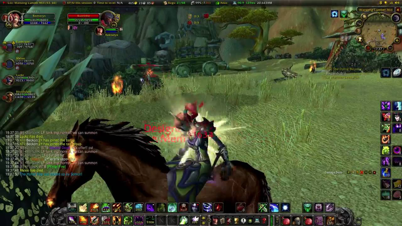 Best Tbc Private Server 2020 Lvl 70 Warlock WSG PVP on TBC Excalibur WoW Private Server   YouTube