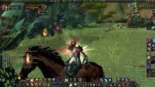 Lvl 70 Warlock WSG PVP on TBC Excalibur WoW Private Server