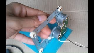 Free energy generator , homemade free energy generator from old vcd player