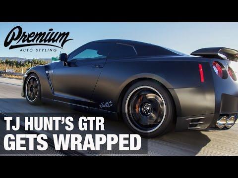 We Wrapped TJ Hunt's GTR!