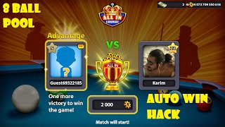 8 Ball Pool Hack ( Autowin+Guideline in all rooms)