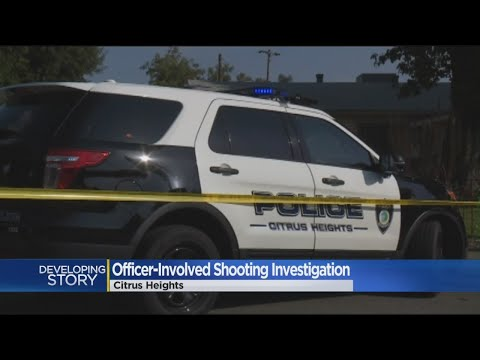 Citrus Heights Police Mum On Details After Shooting Following Pursuit