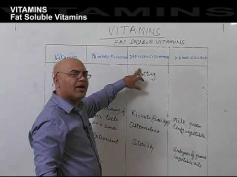 Vitamins Fat Soluble - Part -2