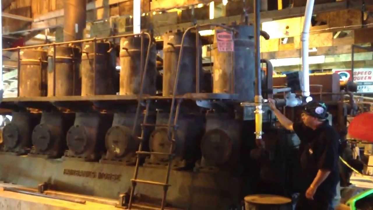 Diesel Engine Working >> Fairbanks Morse 32D diesel start - YouTube