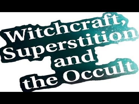 WITCHCRAFT, OCCULT & SUPERSTITION - Jews for Judaism (supernatural Mitzvot Kabbalah Satan shabbat)
