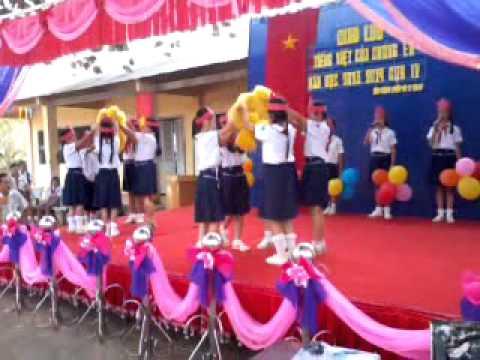 clip Đi ta đi lên của các em HS trường TH Tân Phú A-Tân Châu -TN