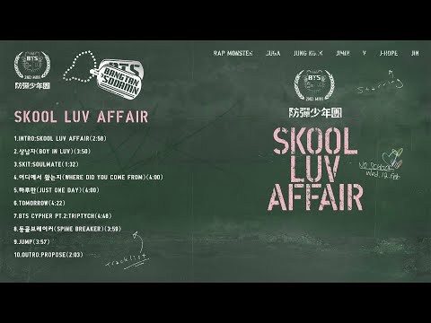 [Vietsub] BTS - Skool Luv Affair Full Album