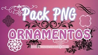 Pack Ornamentos PNG