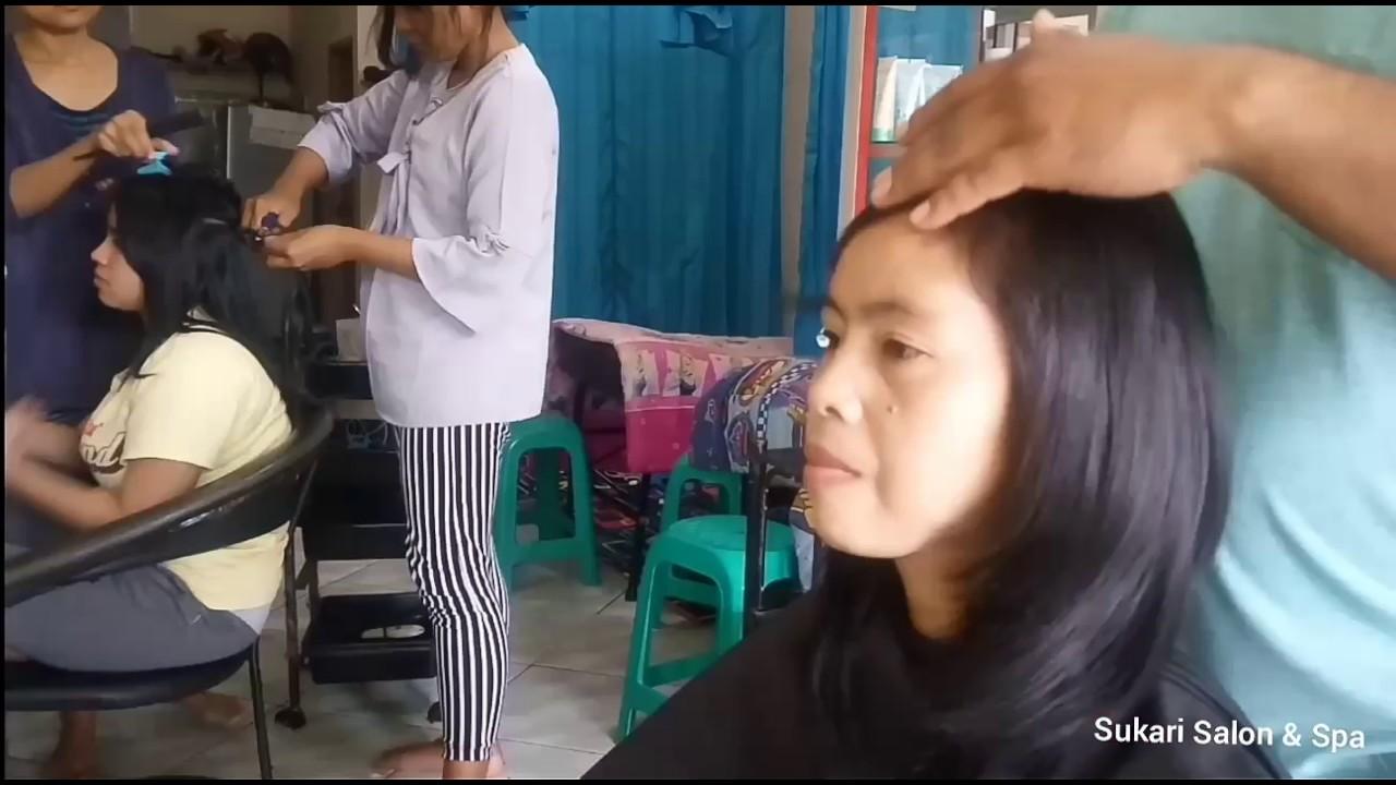 Potong Rambut Segi Layer Pendek - YouTube c10fd8a303