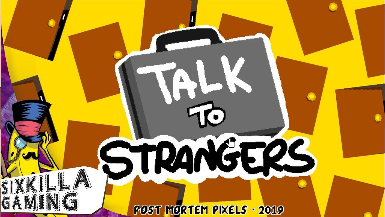Talk to strangers website