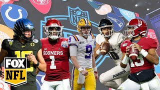 NFL Draft top QB prospects highlight tape: Insane plays from future pro signal callers | FOX NFL
