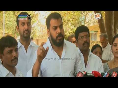 Nellore : YSRCP MLA Anil Kumar uses his Vote in MLC Elections & Slams TDP Govt - 17th Mar 17