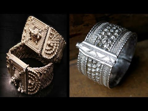 Ethnic Silver Oxidised Fashion Jewellery Designs 2018