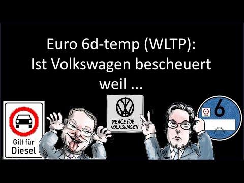 Volkswagen Und Euro 6d TEMP WLTP