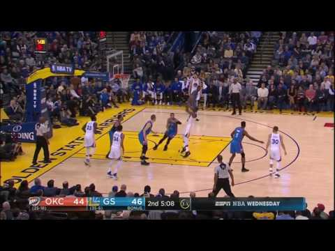 Kevin Durant 40 Pts   Highlights  Thunder vs Warriors  Jan 18 2017