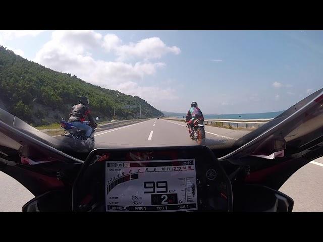 Türkiye'nin En Hızlı R1 ine Geçildim +300km !! Adrenalin