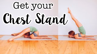 How to do a Cнin / Chest Stand