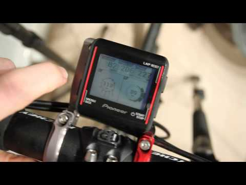 Pioneer Power Meter Head Unit Overview