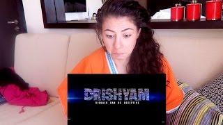 BOLLYWOOD DRISHYAM TRAILER REACTION | DUTCH GIRL TRAILER REACTION | TRAVEL VLOG IV