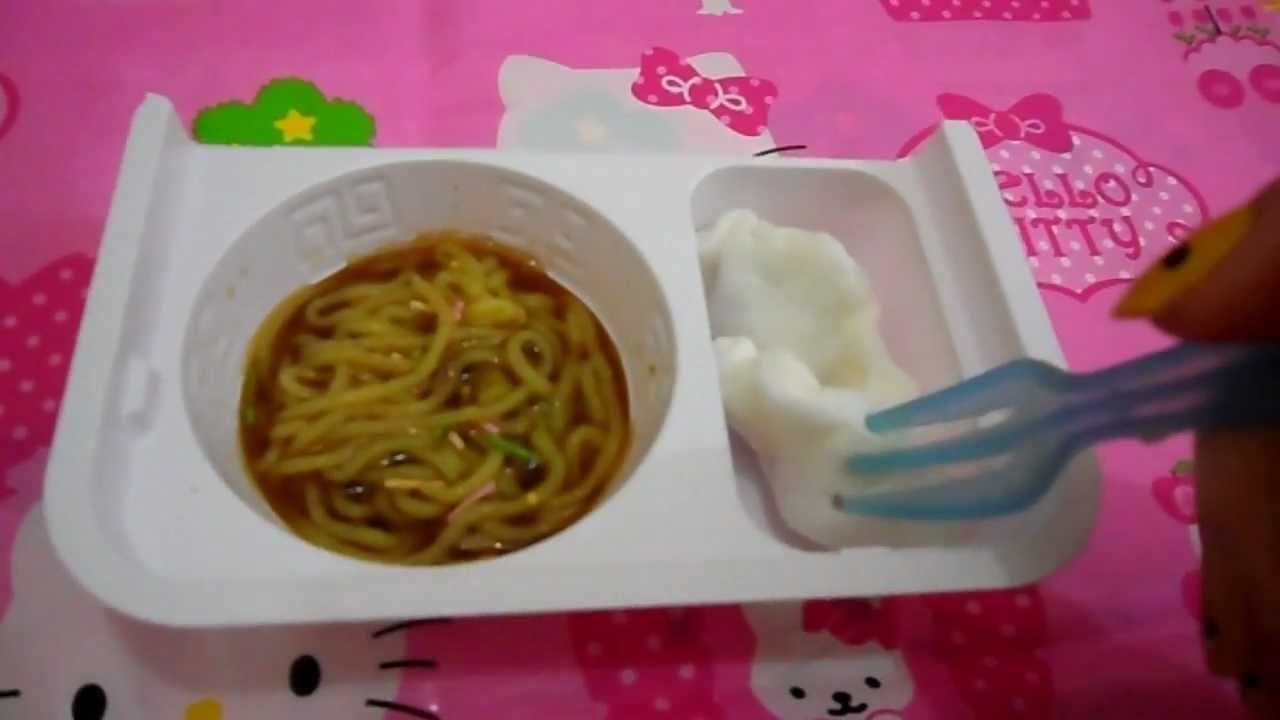 popin' cookin' ラーメンセット (Ramen noodles, Gyoza) - YouTube