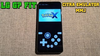 LG G7 Fit - Pokemon X - Citra 3DS Emulator MMJ - Test