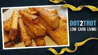 How To Make Low Carb Fries (3 Types)