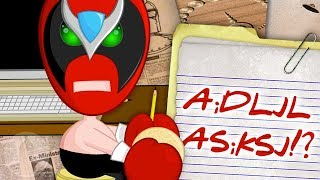 How Does Strong Bad Type with Gloves? | Channel Frederator