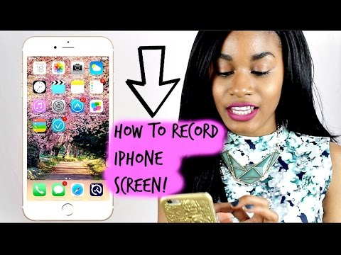 how to record iphone screen free how to record iphone screen on ios 8 easy amp free method 7570