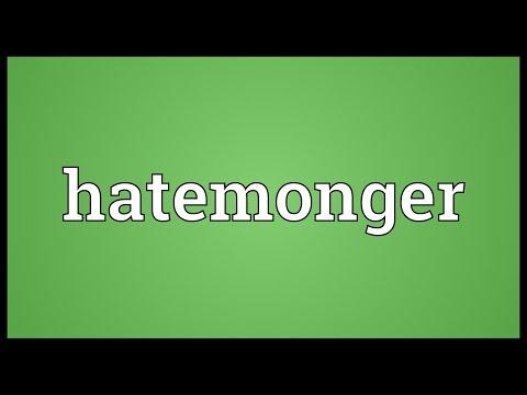 Header of hatemonger