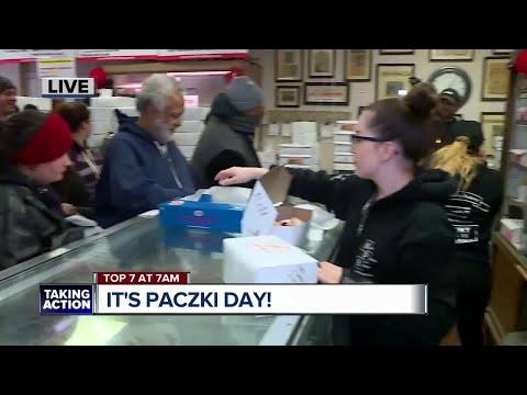 Hundreds celebrate paczki day in Hamtramck
