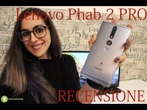 Lenovo Phab 2 PRO - recensione del phablet con project Tango