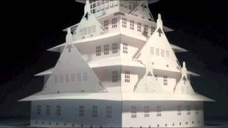 Origami Architecture: Papercraft Models of the World's Most Famous Buildings - Yee Kirigami 3D card