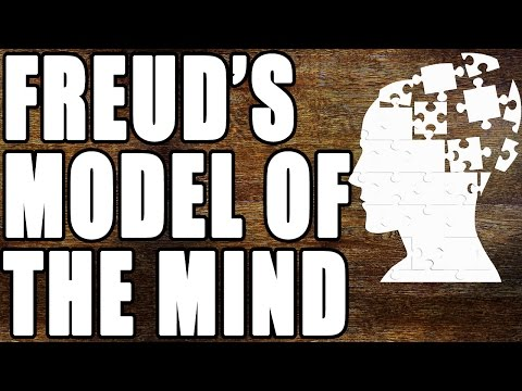 What was Freud's model of the mind?